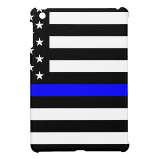 Blue Lives Matter - US Flag Police Thin Blue Line Cover For The iPad Mini