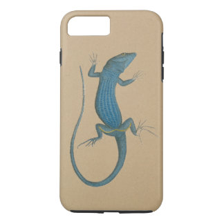 Blue lizard, geko, Capri - Faraglioni iPhone 8 Plus/7 Plus Case