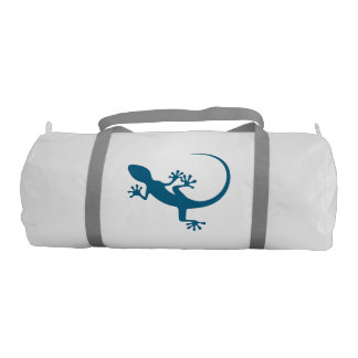 Blue lizard, geko - Faraglioni, Capri, Italy Gym Bag