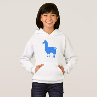 Blue Llama Hoodie