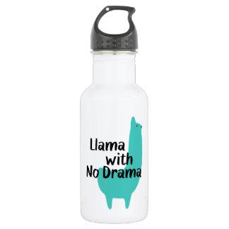 Blue Llama Water Bottle