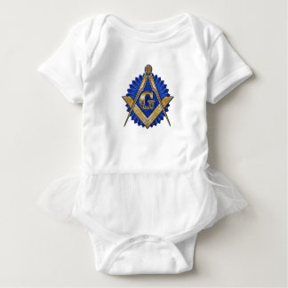 Blue Lodge Mason Baby Bodysuit