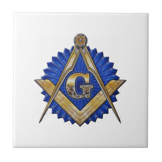 Blue Lodge Mason Ceramic Tiles