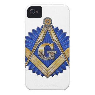 Blue Lodge Mason iPhone 4 Case