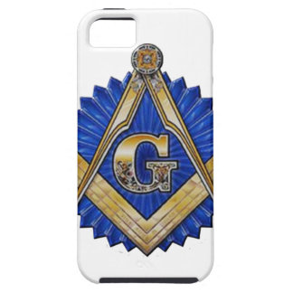 Blue Lodge Mason iPhone 5 Covers