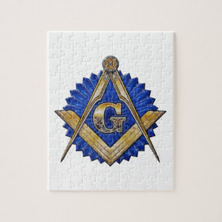 Blue Lodge Mason Jigsaw Puzzle