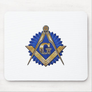 Blue Lodge Mason Mouse Pad