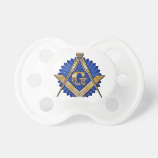 Blue Lodge Mason Pacifier