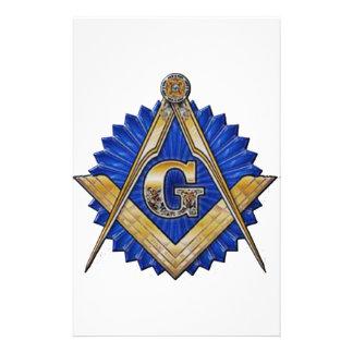 Blue Lodge Mason Stationery