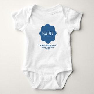 Blue Logo Baby Bodysuit
