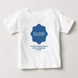Blue Logo Baby T-Shirt