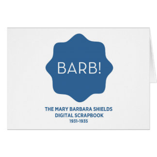 Blue Logo Card
