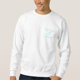 Blue Logo Sweatshirt