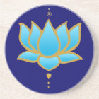 Blue Lotus Coaster