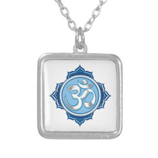 Blue Lotus Om Custom Jewelry