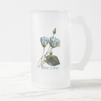 Blue Lotus Personalized Mug