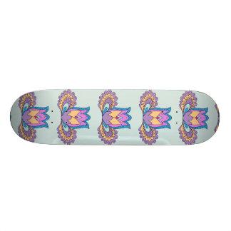 blue Lotus Skate Deck