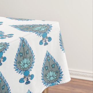 Blue Lotus Tablecloth
