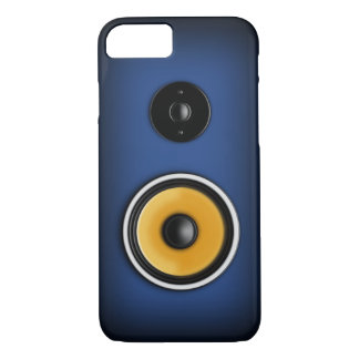 "Blue ""Loudspeaker"" iPhone 7 Case"
