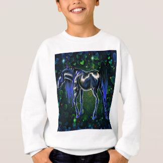 Blue Love Horse Sweatshirt