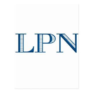 Blue LPN Post Card