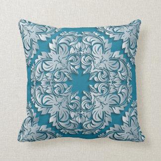 Blue Luxury Reversible Designer Pillow