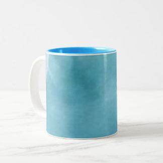 Blue M Two-Tone Coffee Mug
