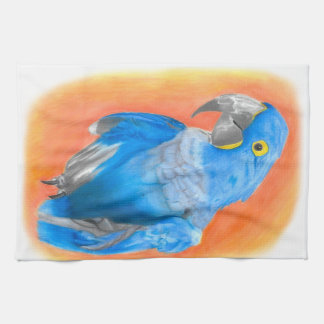 Blue Macaw Kitchen Towel