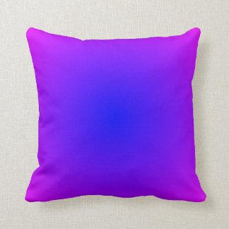 Blue Magenta Gradient Pillow