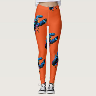 Blue Maine Lobster Leggings