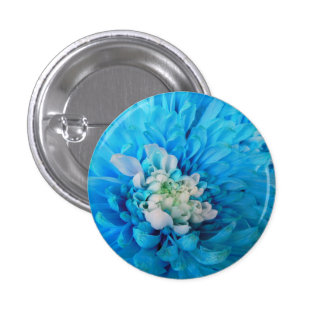 Blue Majesty 1 Inch Round Button