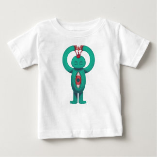 Blue man flame king baby T-Shirt