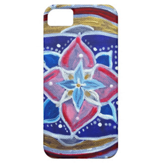 Blue Mandala iPhone SE + iPhone 5/5S, Barely There iPhone 5 Case