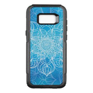 Blue Mandala OtterBox Commuter Samsung Galaxy S8+ Case