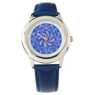 Blue mandala POWER watch