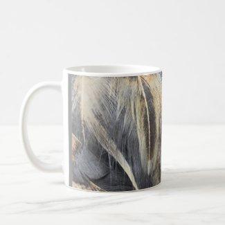 Blue Marans Feathers Mug