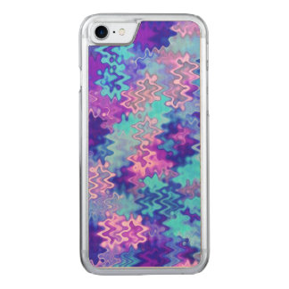 Blue Marble Abstract Carved iPhone 7 Case