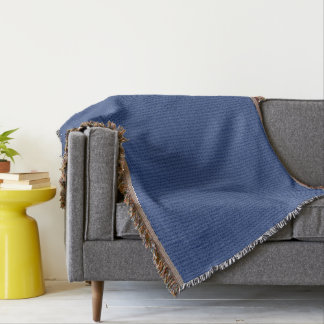 Blue Marble Decorative Throw Blanket