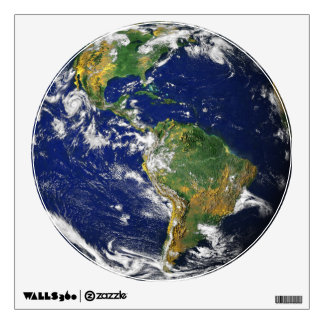 Blue Marble_It's a great big world out there Wall Sticker