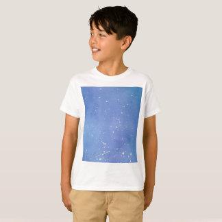 Blue Marble Watercolour Splat T-Shirt