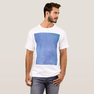 Blue Marble Watercolour Splat T-Shirt