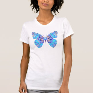 Blue Marbled Butterfly T-Shirt