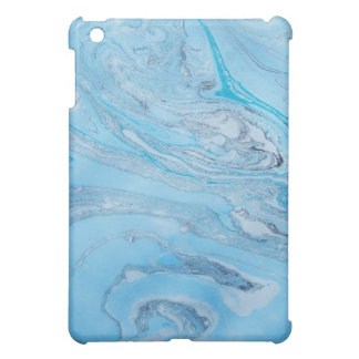 Blue Marbled Ipad Mini Case