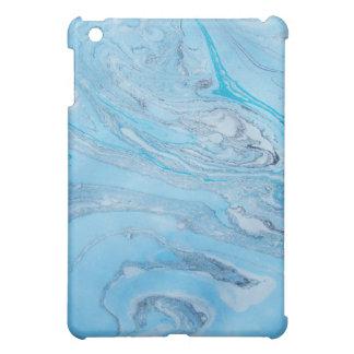 Blue Marbled Ipad Mini Case
