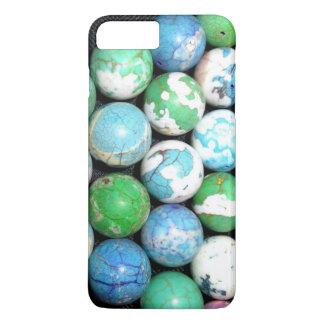 Blue Marbles iPhone 7 Plus Case