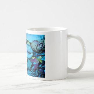 Blue maritime Symphony OF Seashell Coffee Mug