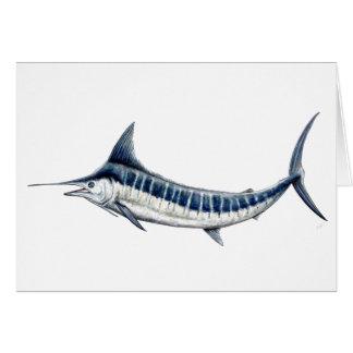 Blue Marlin card