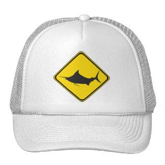 Blue Marlin Crossing! Trucker Hat