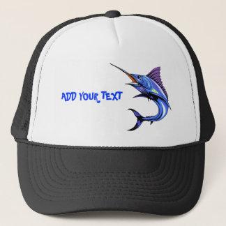 Blue Marlin Gone Fishing Cap