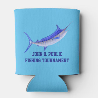 Blue Marlin Personalized drink cooler